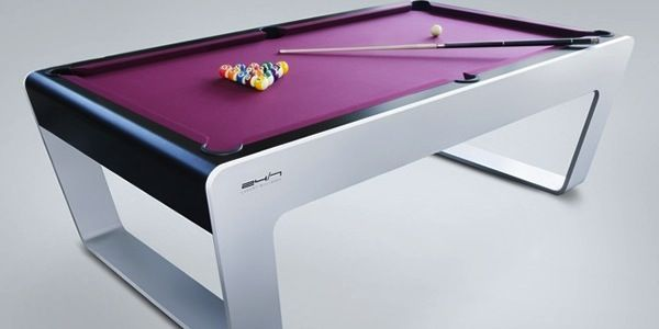 Billard Americain Design table de billard américain signée porsche design | pool tables