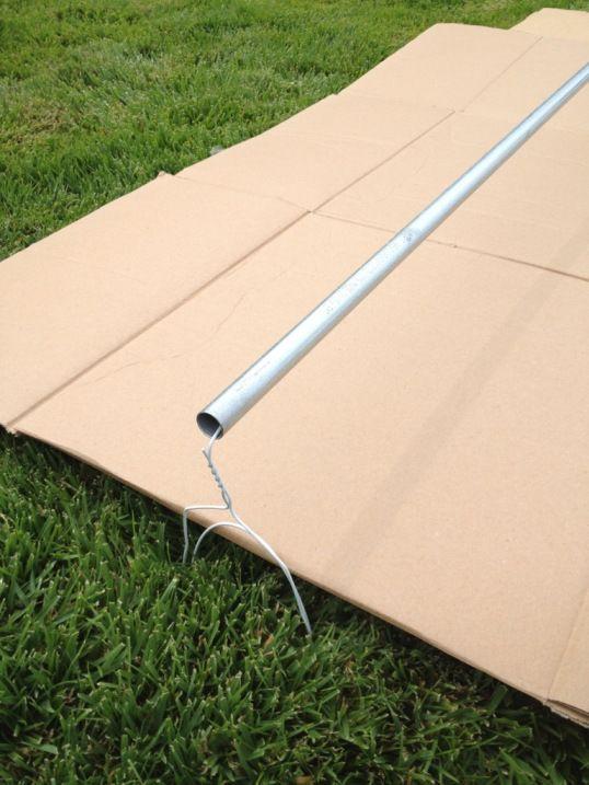Cheap and Easy DIY Curtain Rod  19615 HONEY DO List