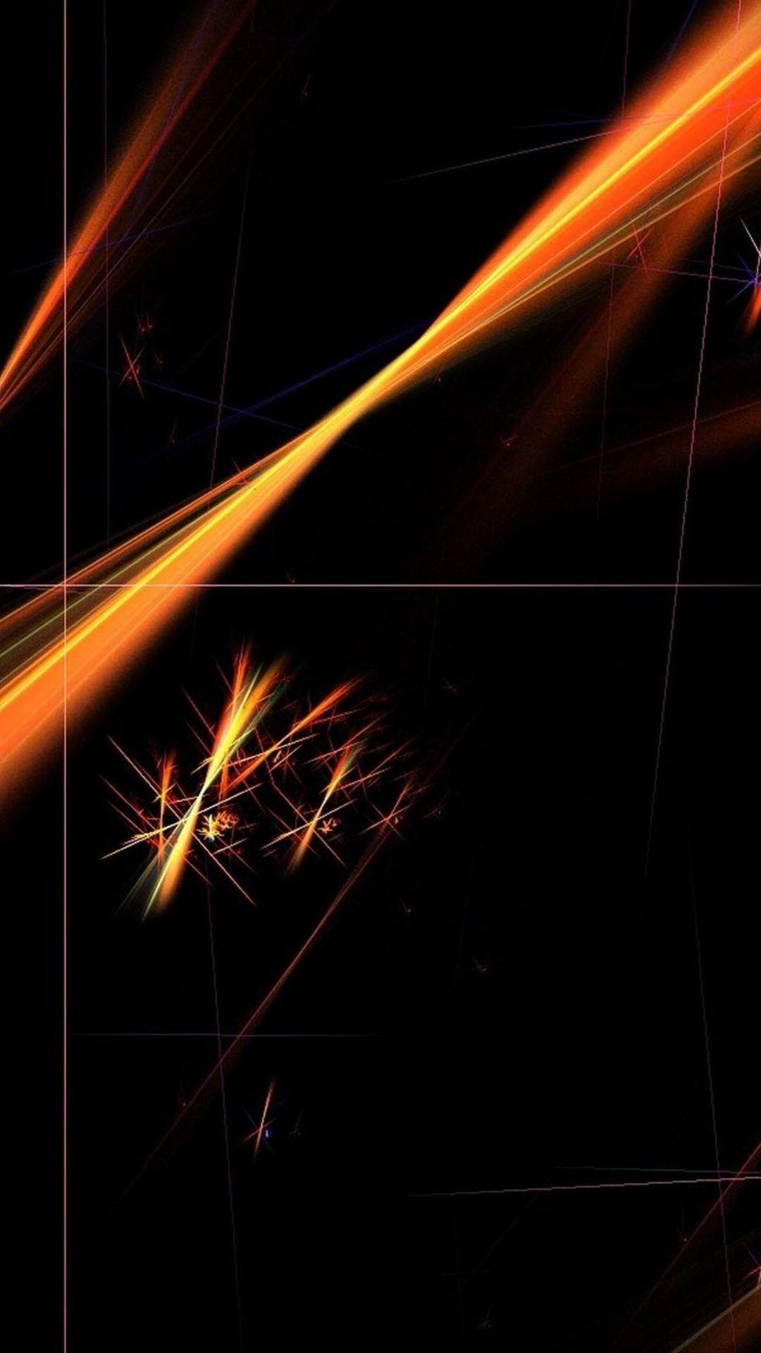 Minimalist Black Orange Background Image Orange Wallpaper Orange Background Black Wallpaper