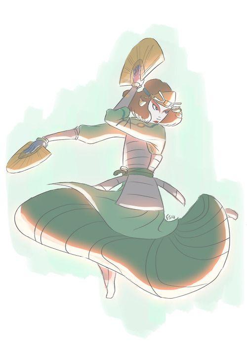 Kyoshi Warrior | Suki | The Last Airbender | Avatar