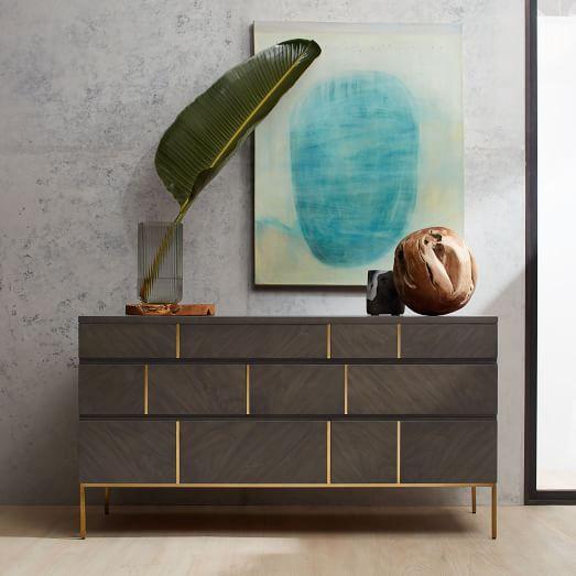 Claude Dresser | west elm | Furniture | Pinterest | Latón ...