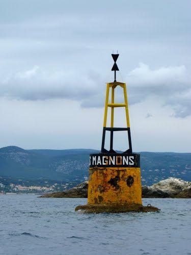 Cardinale les Magnons - rade du Brusc - My Sail croisière Méditerranée