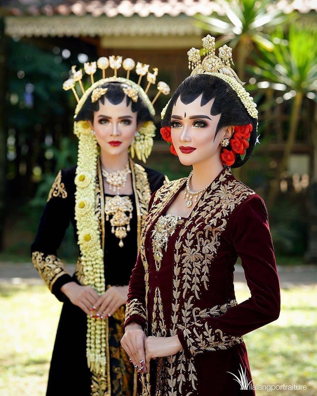 Pakaian Pengantin Wanita Adat Jawa