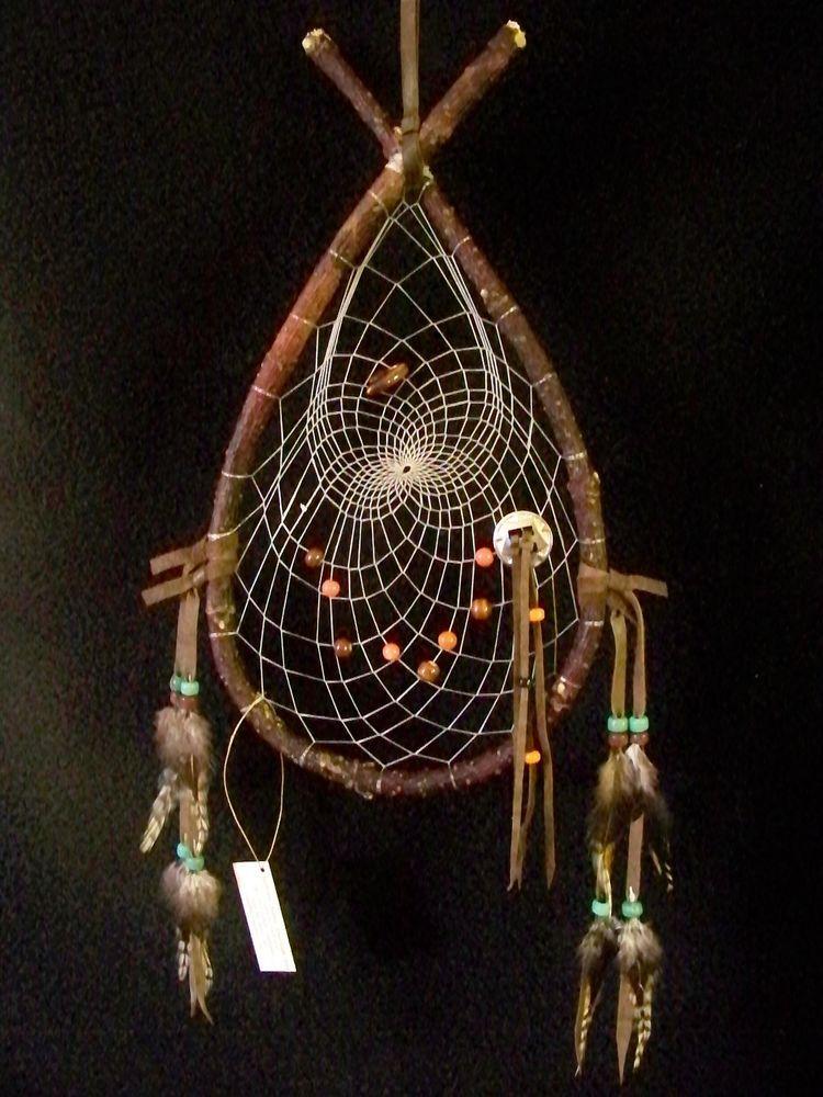 Authentic Ojibwe Native American Red Willow Aseenewub Red Lake Delectable Ojibwe Dream Catcher