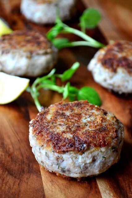 Gluten Free Tinned Sardine Fish Cakes