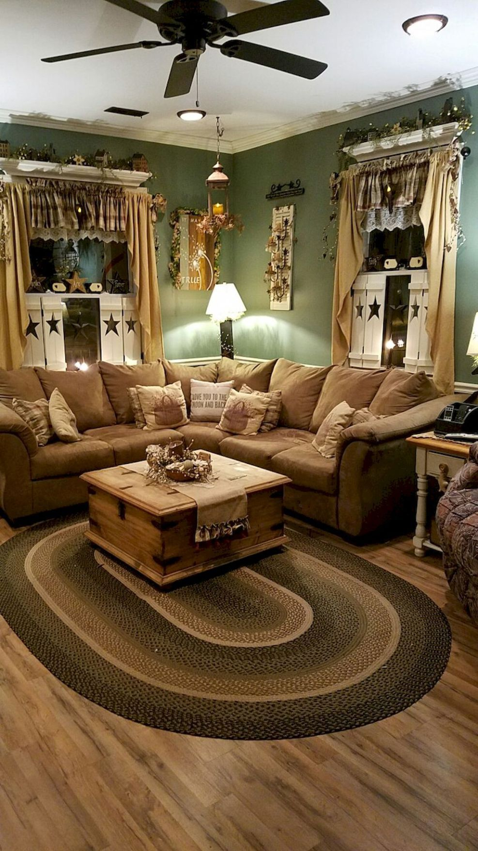 Insane modern farmhouse living room design ideas (1 ...