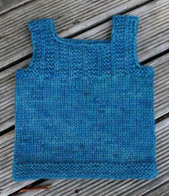 Knitting Baby Vest Ravelry: Tiny Trees Baby Vest pattern ...