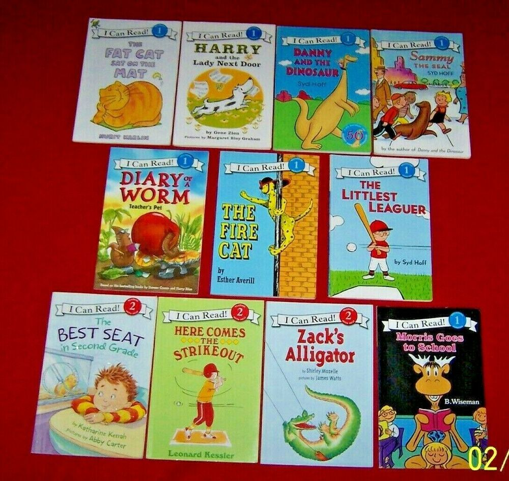Lot 11 beginning readers an i can read books level 12