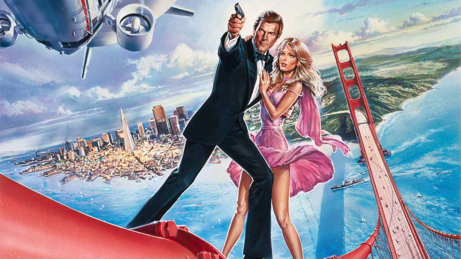 A View To A Kill 1985 By Dan Gouzee James Bond Movies James