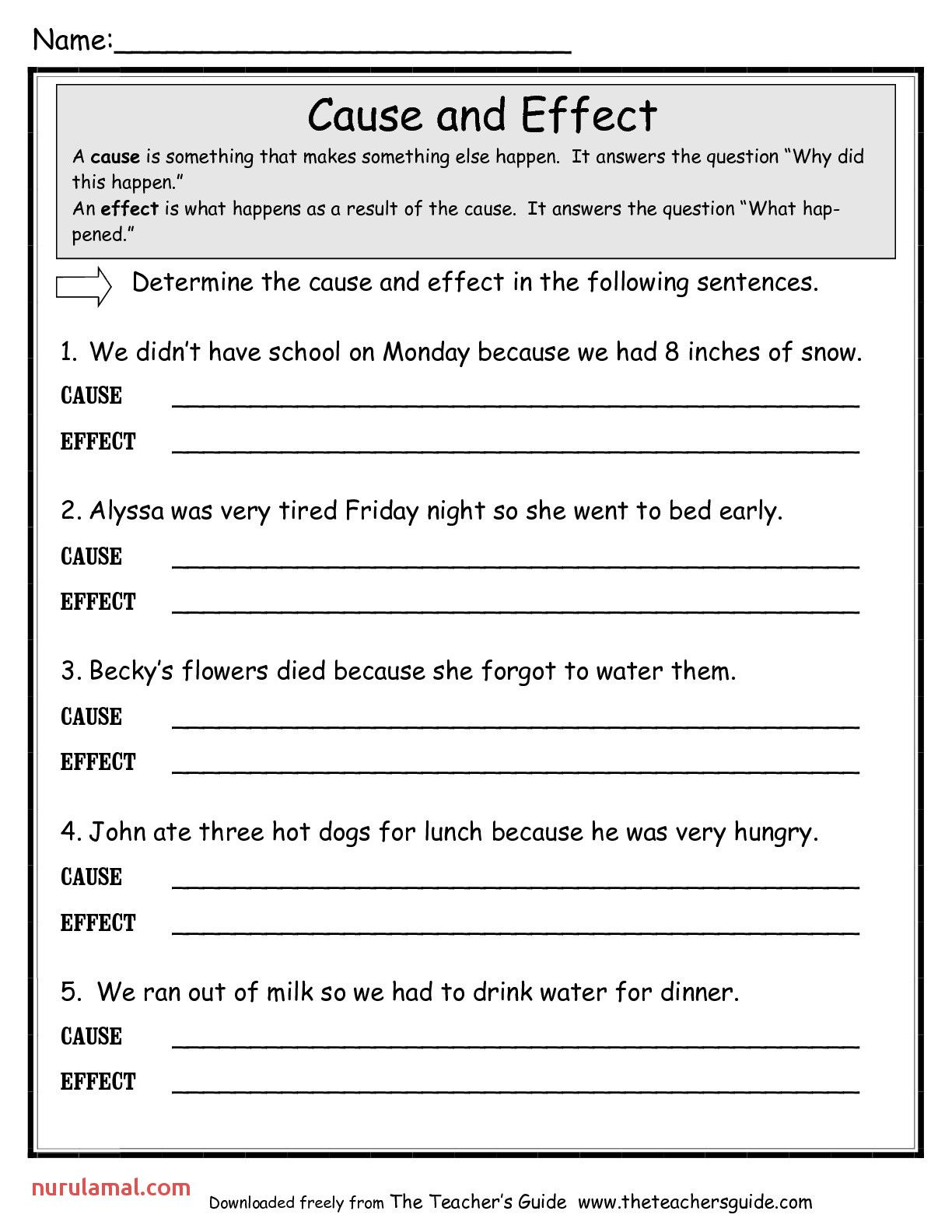 The Letter A Worksheets Printable 001 in 2020 Cause and