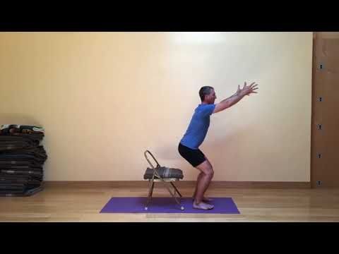 in this version of powerful pose you move into the pose