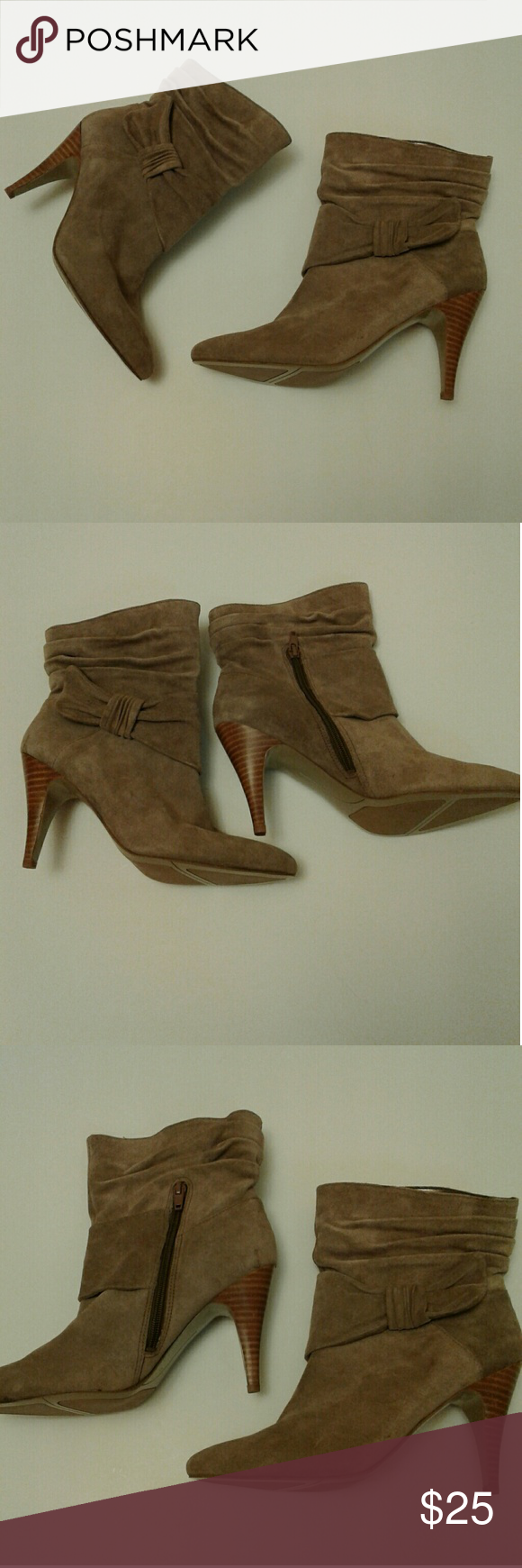 """Boots by Nine West Beautiful Boots By Nine West  Size 8M Zipper Up Side 4"""" Heel NWOT Nine West Shoes Heeled Boots"""