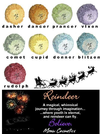 Reindeer Color Collection from Meow Cosmetics