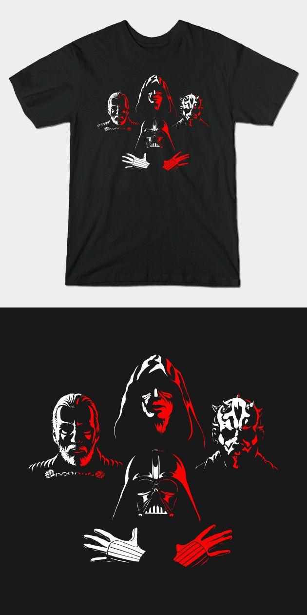 445bf7a0c Queen Star Wars T Shirt | The Sith Bohemian Rhapsody parody. The Dark Side  is