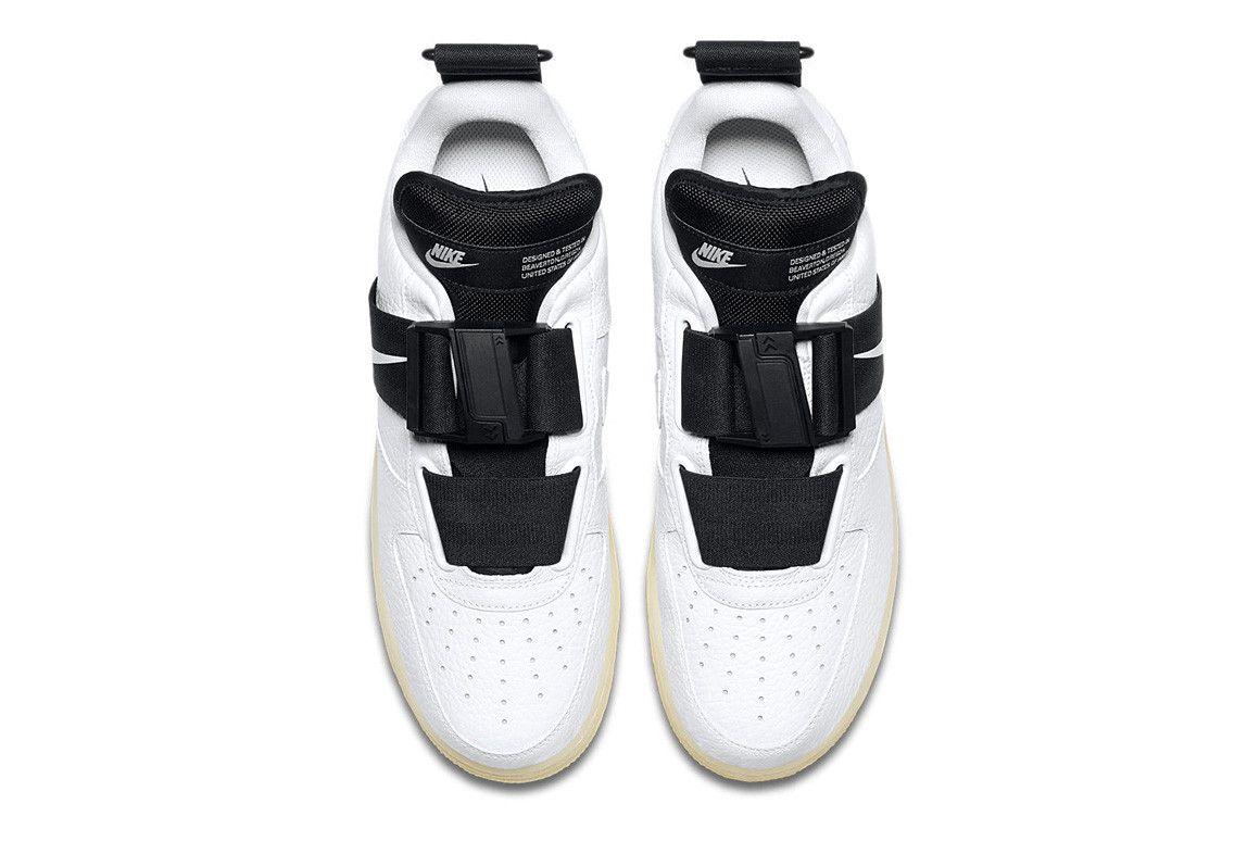 ea860994 Nike Air Force 1 Utility QS Glow-in-the-dark подошва кроссовер цвет белый  белый дата выхода цена информация