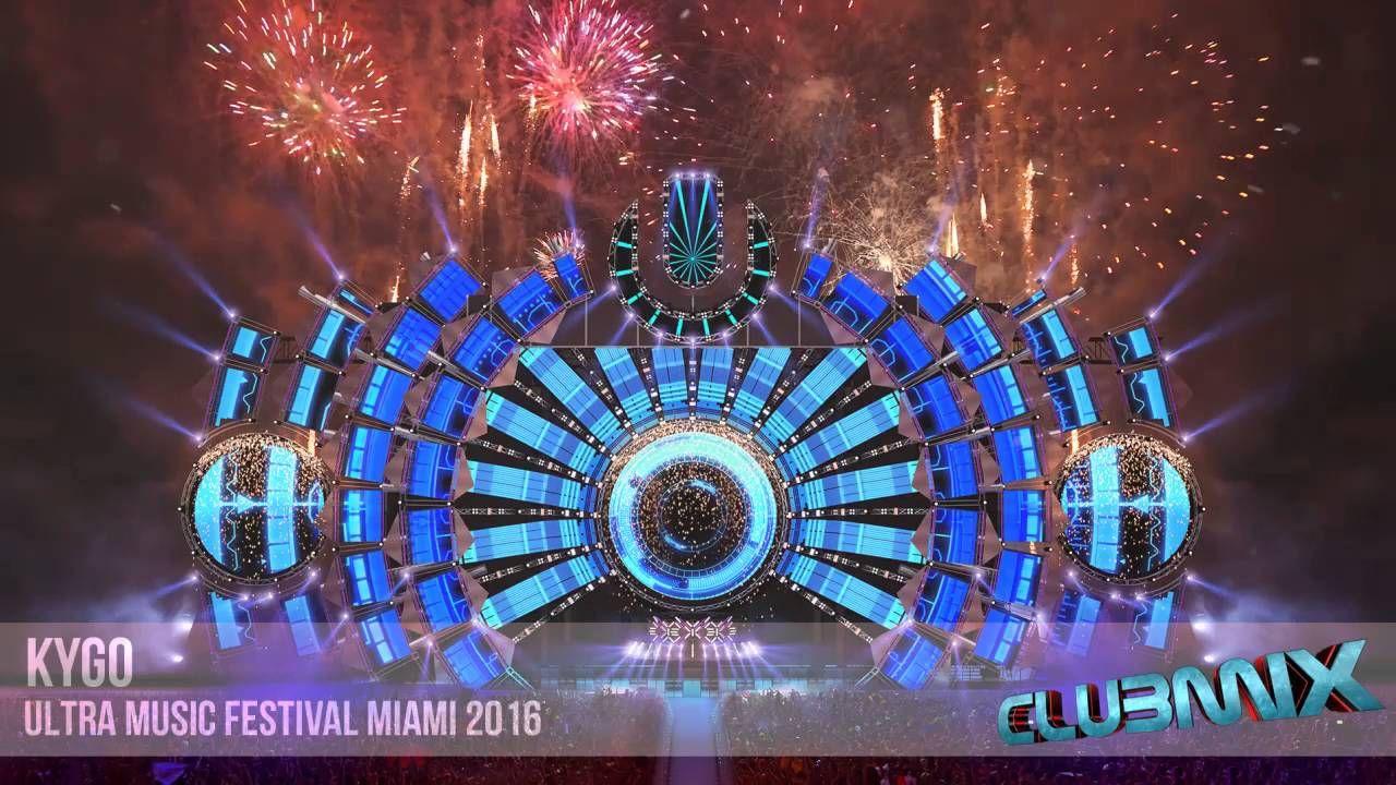 Kygo Live Ultra Music Festival 2016 Concert Stage Design Ultra Music Festival Festival