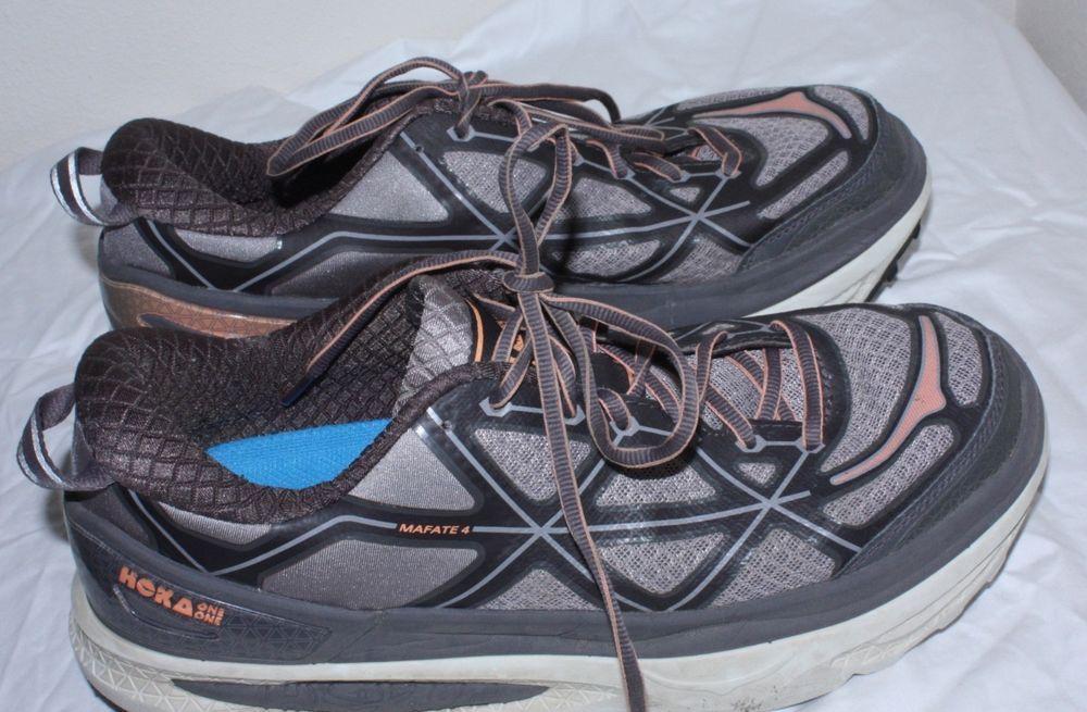 3466bb773801 Hoka One One Womens Mafate 4 Speed Light Cushioned Running Shoes Sz 10 Free  Ship  fashion  clothing  shoes  accessories  womensshoes  athleticshoes  (ebay ...