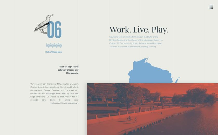 The Best Designs Web Design Inspiration Coulee Creative In 2020 Web Design Inspiration Web Design Web Design Agency