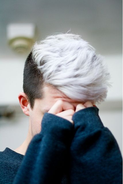 Beautiful Well Dressed Men Hair Color Mens Hair Colour White Hair Men