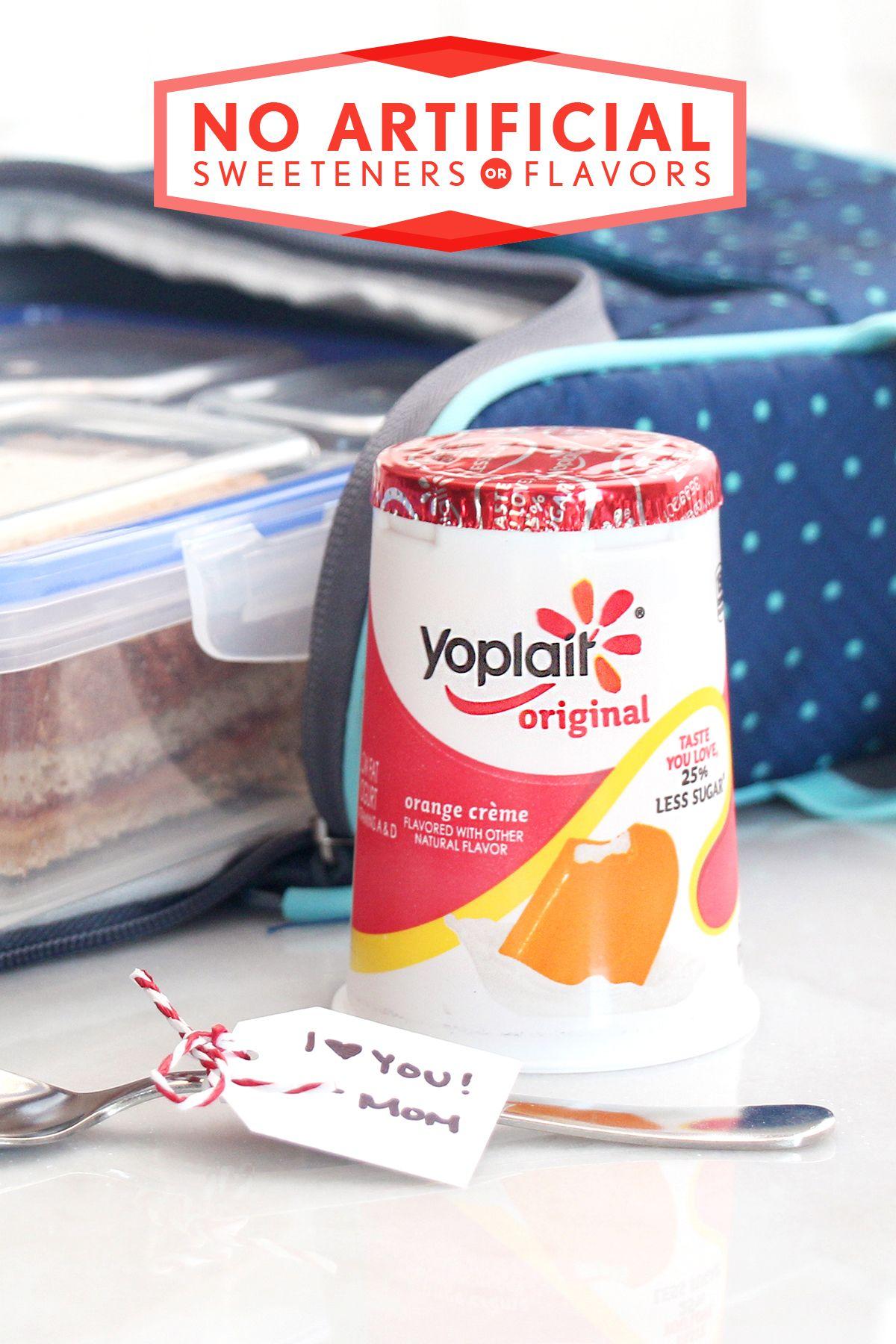 Yoplait Original Yogurt 25 Less Sugar Yoplait Yoplait Yogurt Flavors Yoplait Yogurt