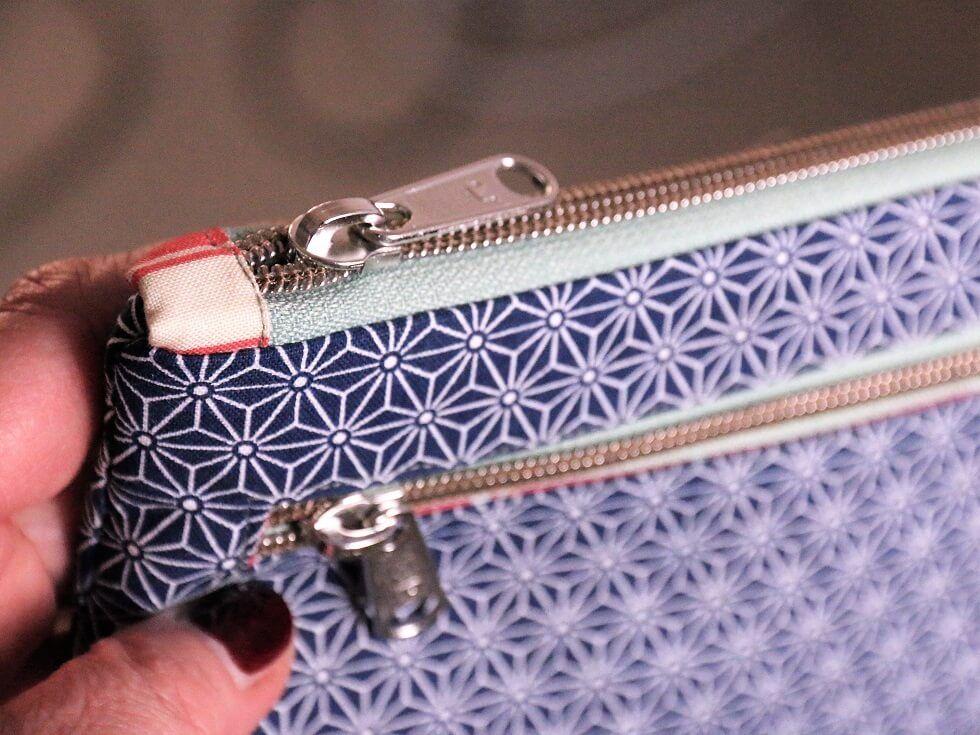 Schminktäschchen Nanami nähen | Taschen und Organizer | Pinterest ...