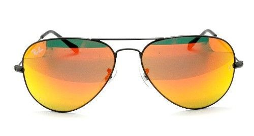 Rayban Sunglasses Aviator 3025 black Orange 002/69