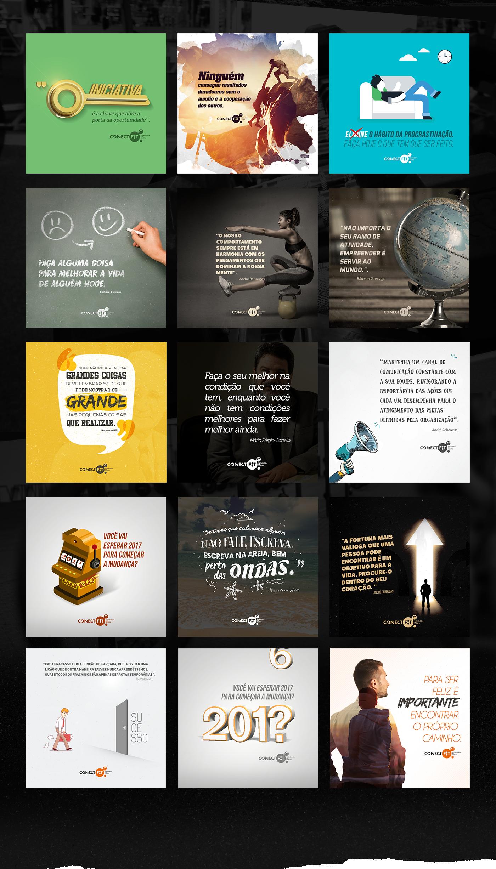 Social Media Conect Fit On Behance Ideias De Publicidade Midias Sociais Marketing De Midia Social