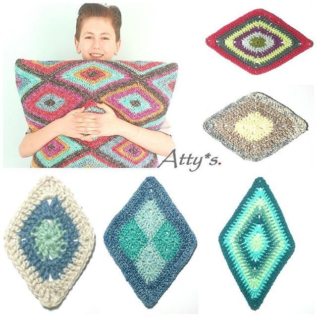 You can find the pattern for the Diamond Motif on my blog now. http ...