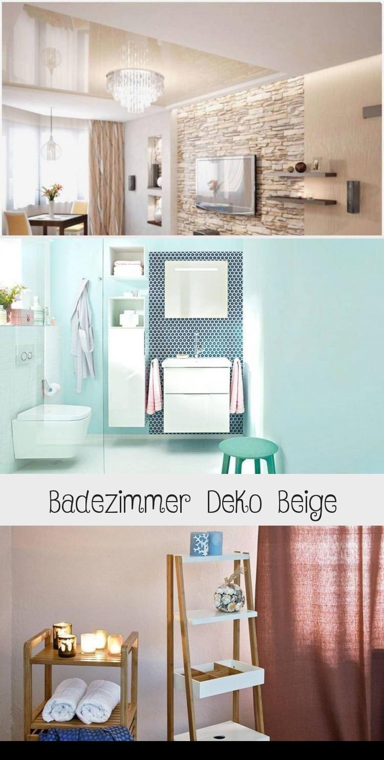 Badezimmer Deko Beige