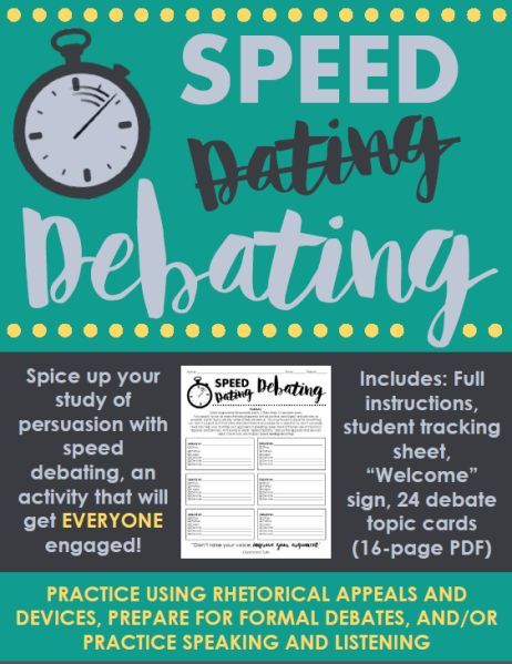 Speed dating role play cards esl lesson