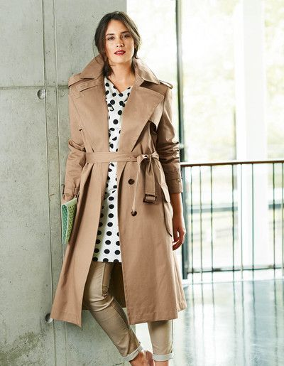 BU 315plus3 46614 | trenchcoat | Pinterest | Stil und Neuheiten