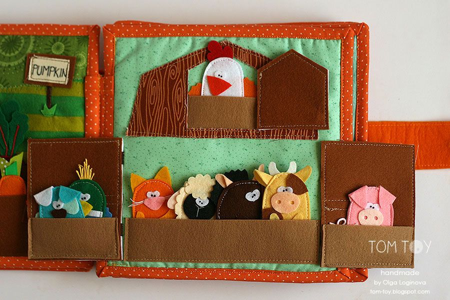 handmade cloth quiet busy book for sergio finger puppets barn kreativ. Black Bedroom Furniture Sets. Home Design Ideas