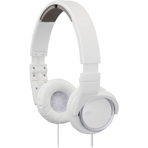 3-Way Foldable On-Ear Lightweight Headphones-White