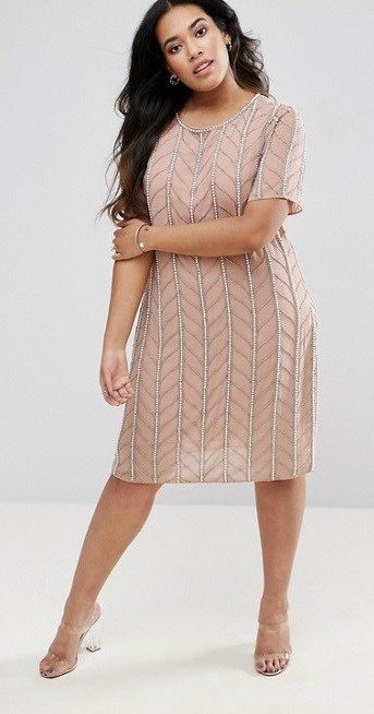 Nice 45 Plus Size Wedding Guest Dresses {with Sleeves Amazing Design