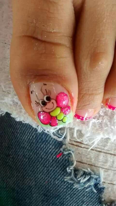 Mariquita Uñas De Pies Y Manos En 2019 Pinterest Nails Nail