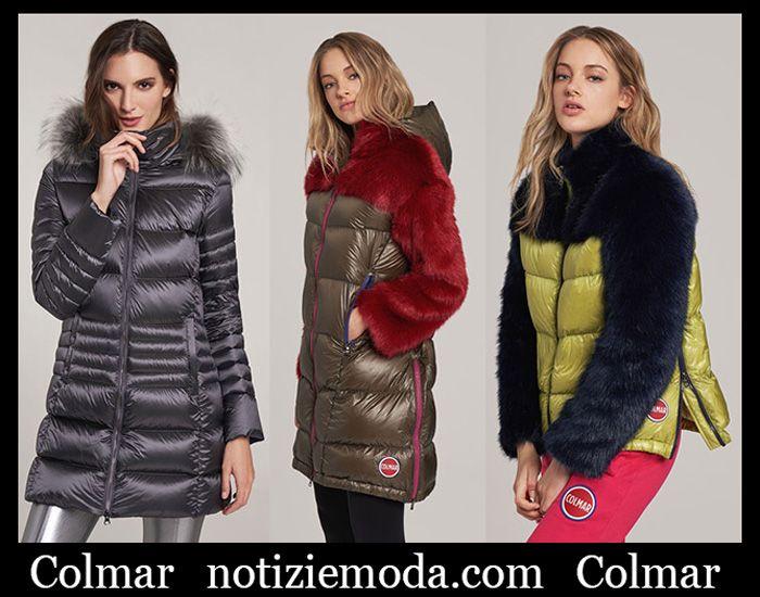 2872ad4d63 Piumini Colmar autunno inverno 2018 2019 nuovi arrivi | Moda Donna ...