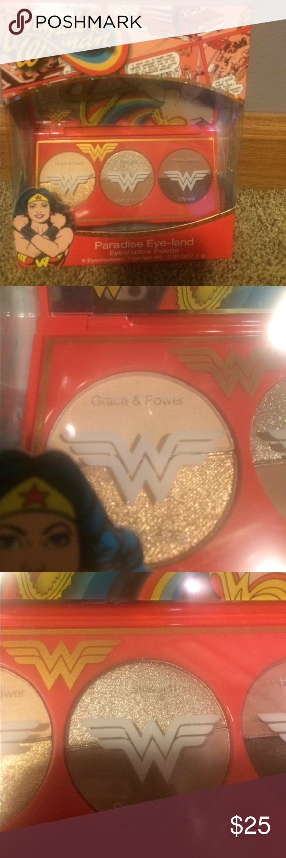 NEW Wonder Woman Eyeshadow NWT Wonder woman, Eyeshadow