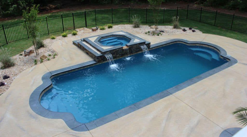 Different Types Of Swimming Pools Fiberglass Swimming Pools Swimming Pools Luxury Swimming Pools