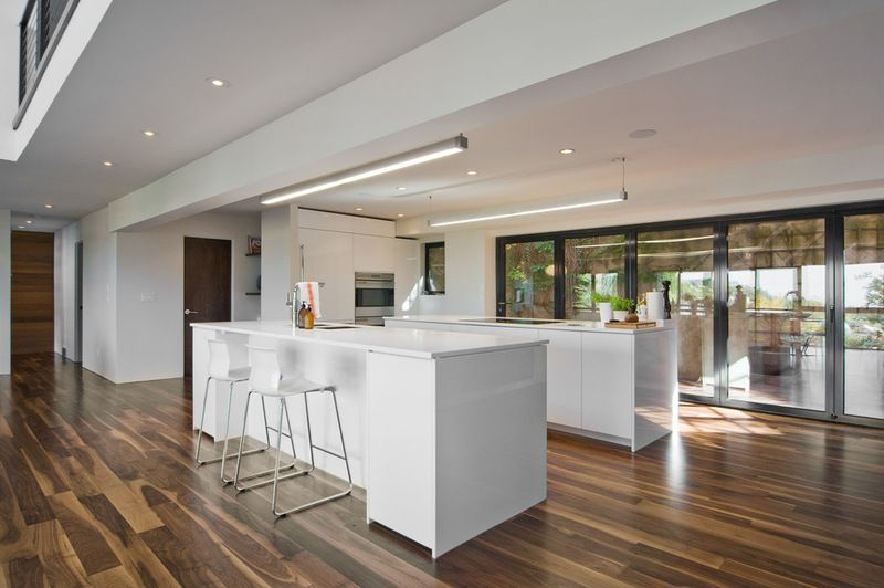 modern kitchen by Lucy Call. Kitchen with 2 large islands ...