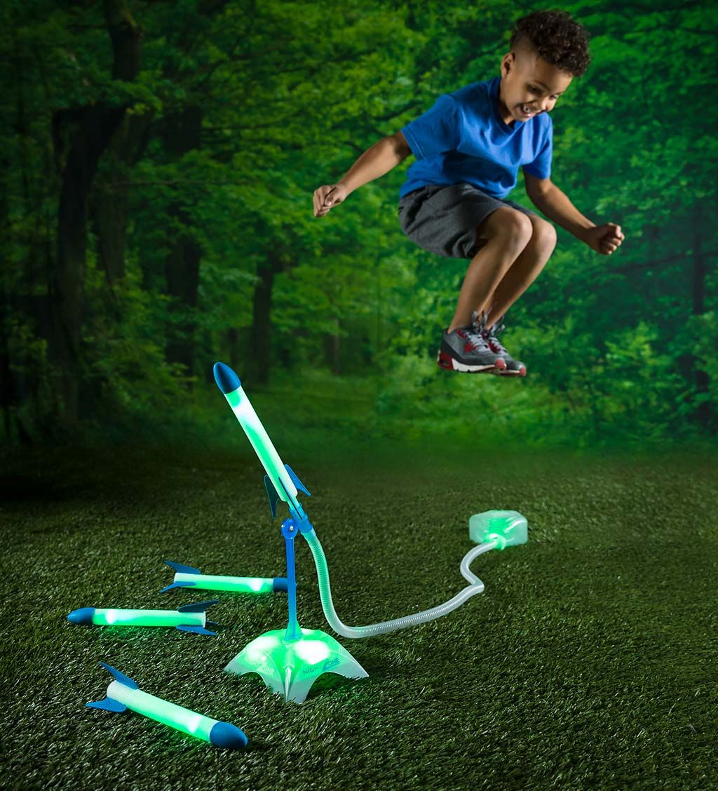 Stomp Rocket, Backyard Obstacle Course, Light Up