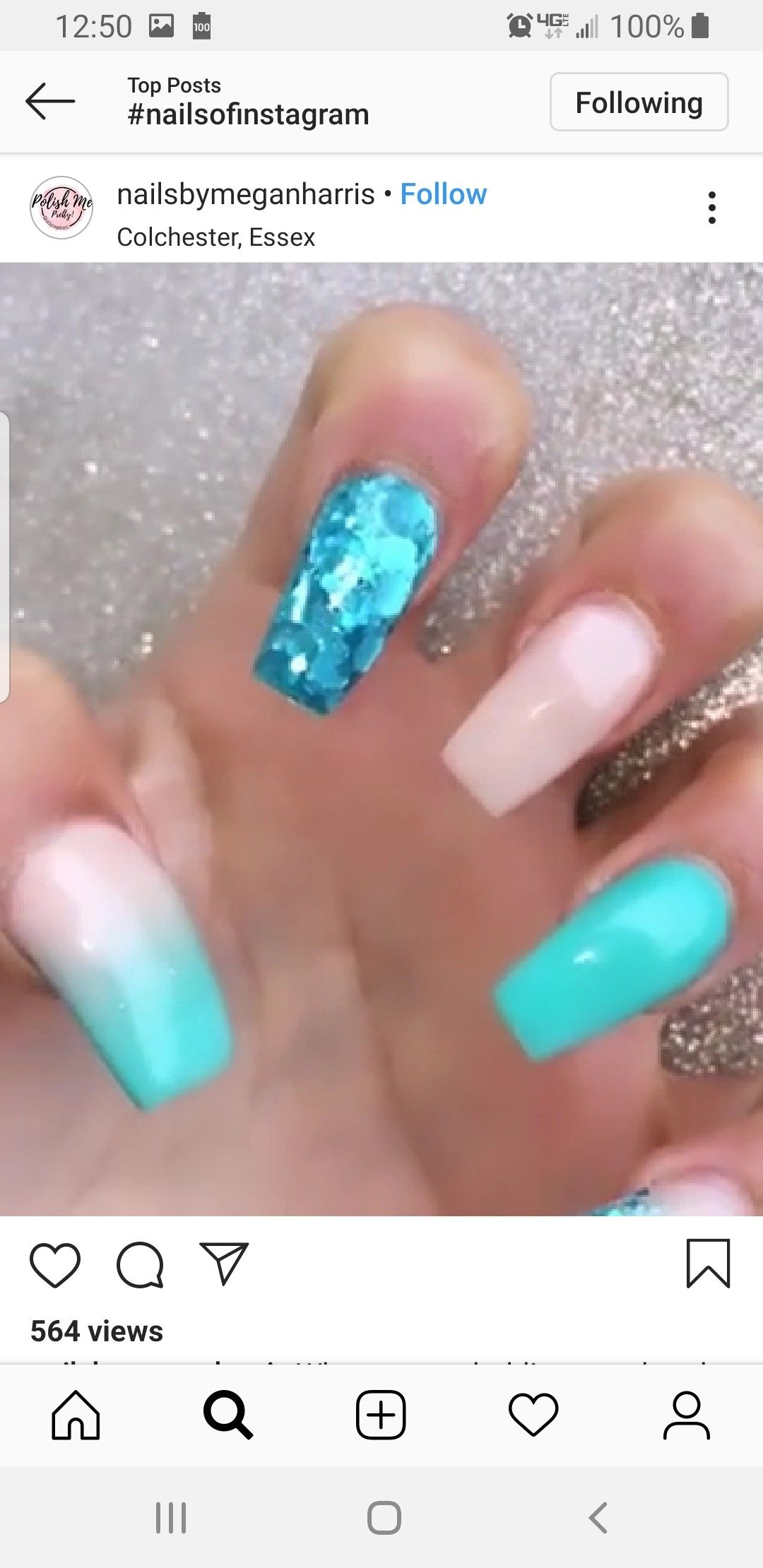 Nails Image By Tia Kroo On Nail Ideas Instagram Colchester