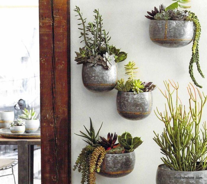 1001 ideas de decoraci n de jard n con maceteros grandes - Maceteros grandes ikea ...