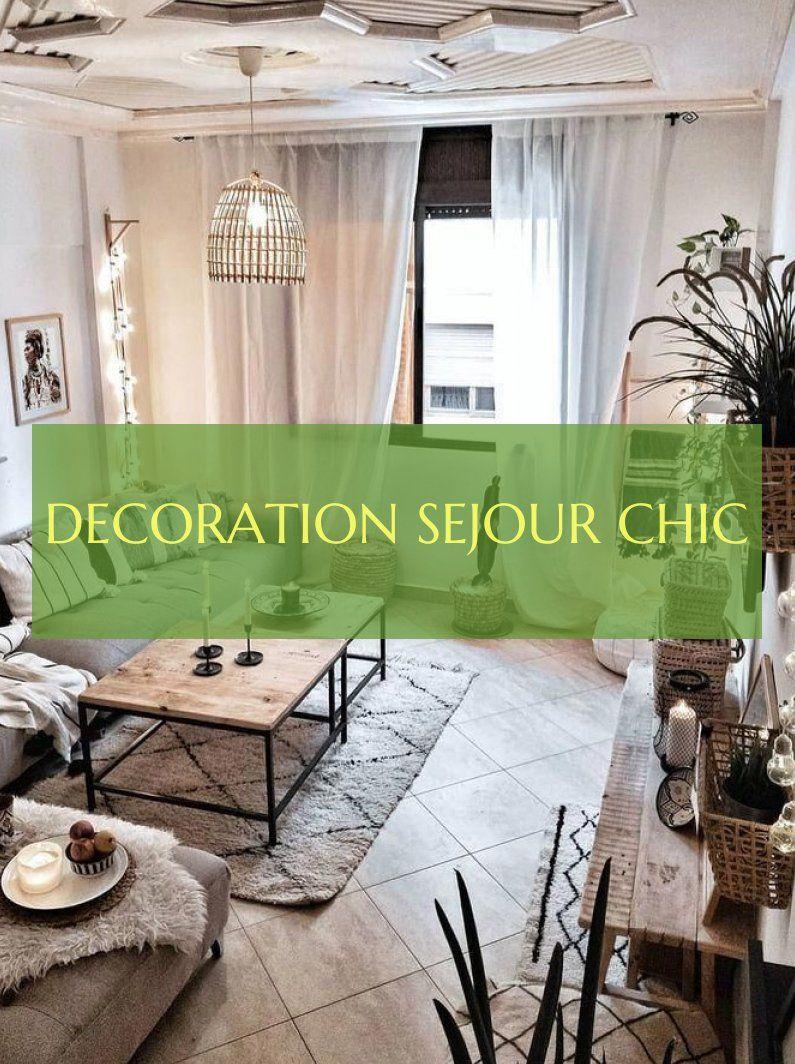 decoration sejour chic