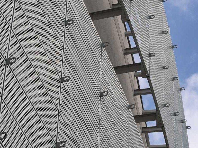 Chapa perfurada e estampada para fachadas de zinco tit nio for Lamiere stirate fils