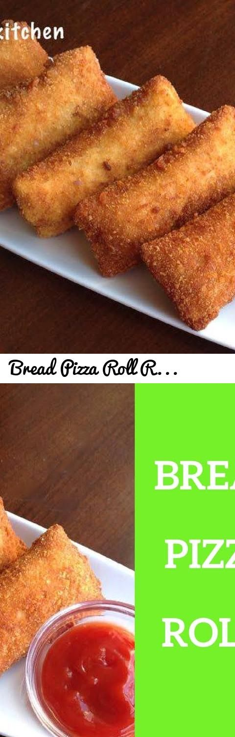 Bread Pizza Rolls Recipe My Food