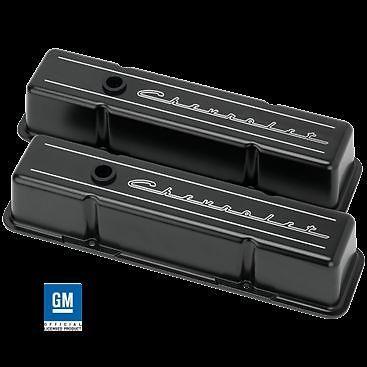 Billet Aluminum Small Block Chevy Tall Valve Cover 350 327 400 Chevrolet Black Valve Cover Chevy Billet Aluminum