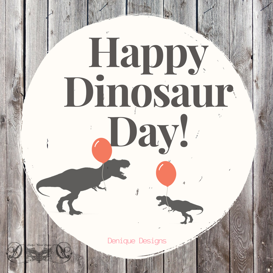 Today May 15, 2017 is Dinosaur Day. To all the little dinosaur lovers out there, Happy Dinosaur Day!   If you want to own your own dinosaur tooth or bone pendant go to our Website!