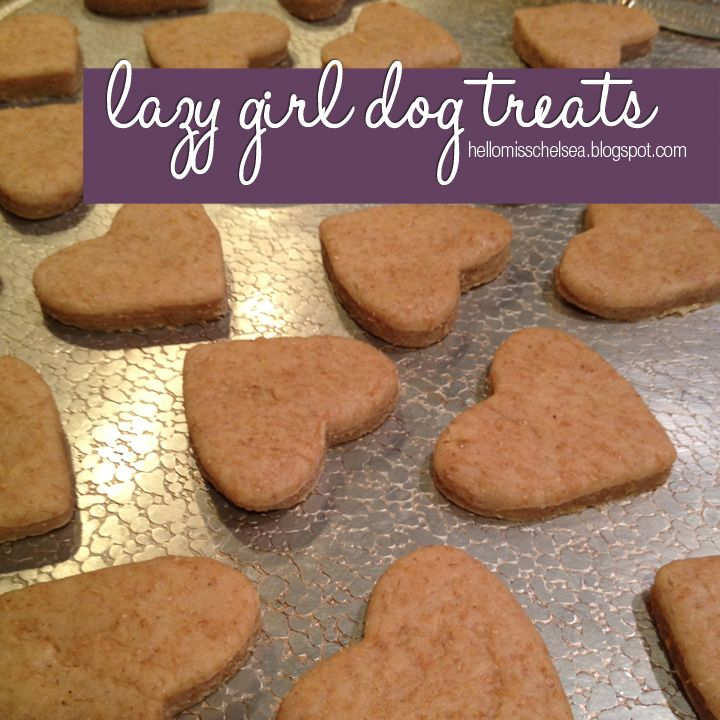 Lazy Girl Dog Treats Homemade Dog Treats Girl And Dog Diy Dog