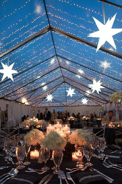 Pin By Wedding Ideas On Starry Night Wedding Theme Pinterest