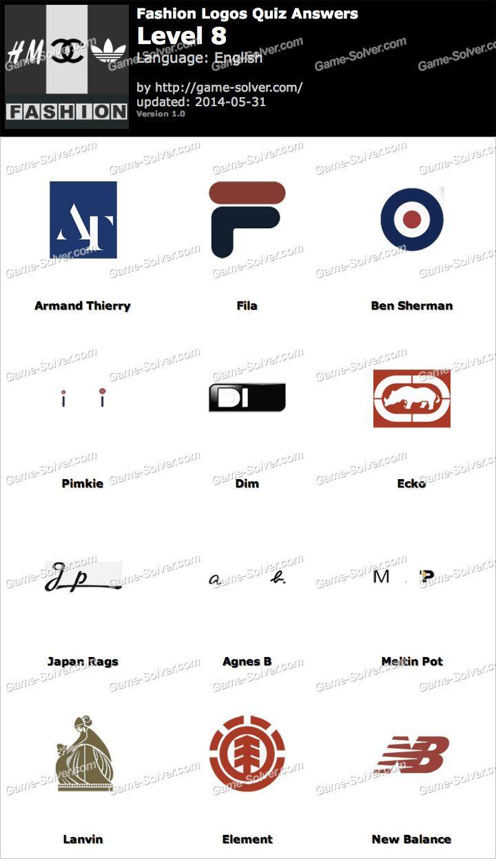 Logos Level 21 : logos, level, Fashion-Logos-Quiz-Level-8.jpg, (720×1246)
